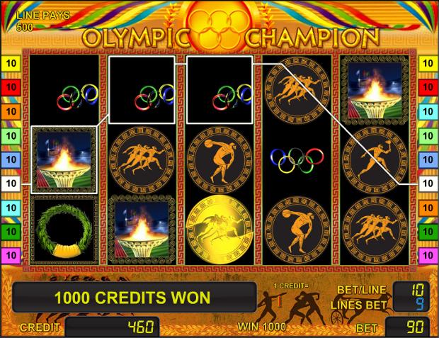Игровой автомат Olympic Champion - играть бесплатно в Joycasino а так-же на деньги