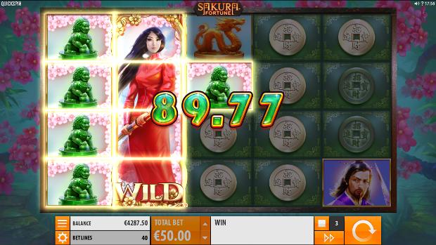 Игровой автомат Sakura Fortune - играть онлайн в Вулкан Гранд казино