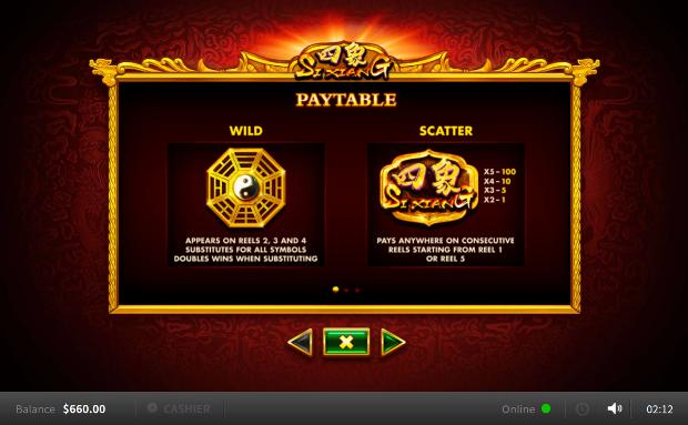 Игровой автомат Si Xiang - быстрая регистрация на портале Вулкан Делюкс