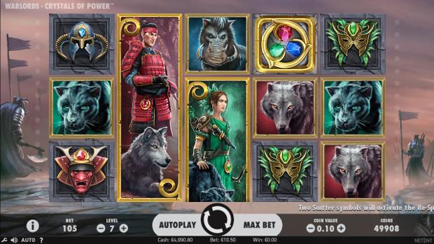 Игровой автомат Warlords: Crystals of Power - бесплатно играй в слоте в Вулкан казино