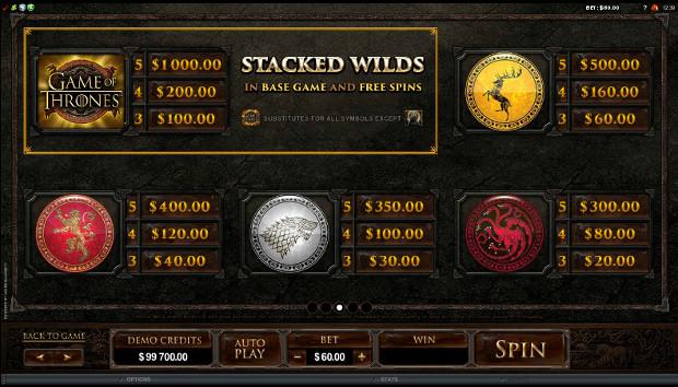 Игровой автомат Game of Thrones - бесплатно тренируйся в Вулкан казино онлайн