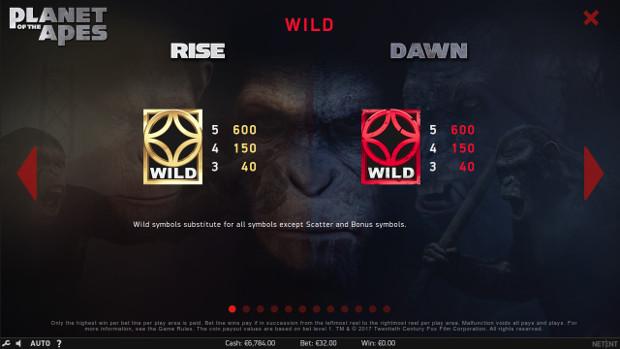 Игровой автомат Planet of the Apes - регулярные выигрыши в онлайн казино Вулкан