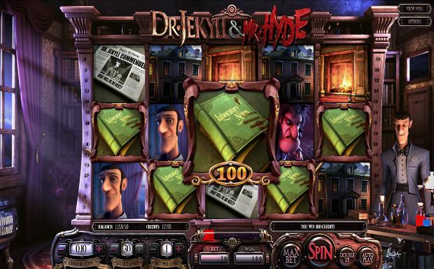 Игровой автомат Dr Jekyll & Mr Hyde - играй бесплатно или на деньги в клуб Вулкан онлайн