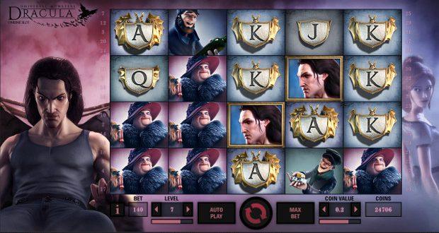 Игровой автомат Dracula - выиграй в онлайн слоты Вулкан казино на деньги