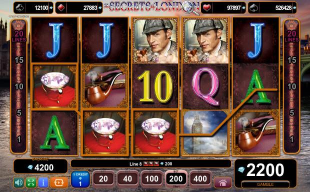 Игровой автомат The Secrets of London - на официальный сайт казино Азино 777 выиграй каждый день