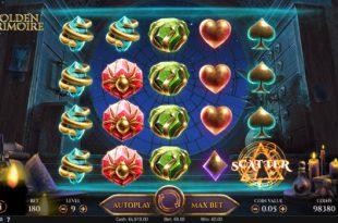 Игровой автомат Golden Grimoire - в Адмирал Х казино выгодные бонусы за регистрацию
