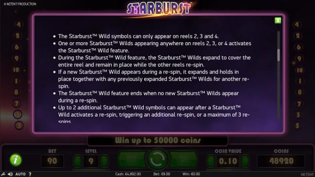 Игровой автомат Starburst - сорви куш слота в Вулкан Россия казино онлайн