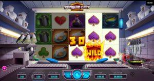 Игровой автомат Penguin City - выгодно играть в клуб казино Вулкан онлайн