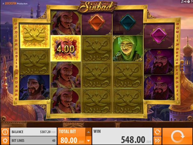 Игровой автомат Sindbad - в казино Вулкан по крупному выиграй